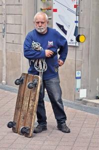 Skateboardåkaren Foto: Lars-Ingvar Larsson