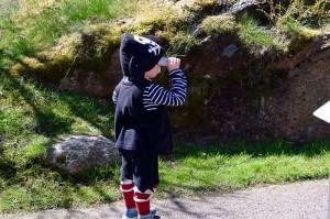Pirat spanar efter sjörövare Fotograf: Agneta Svensson